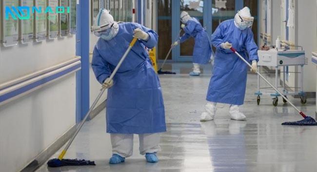 đồng phục công nhân vệ sinh