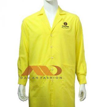 Áo blouse vàng tươi ABM017