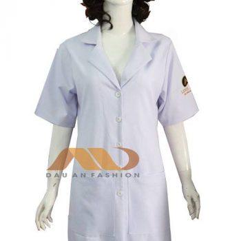 Áo blouse trắng tay ngắn ABM019