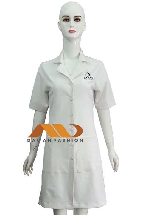 Áo blouse trắng tay ngắn ABM022