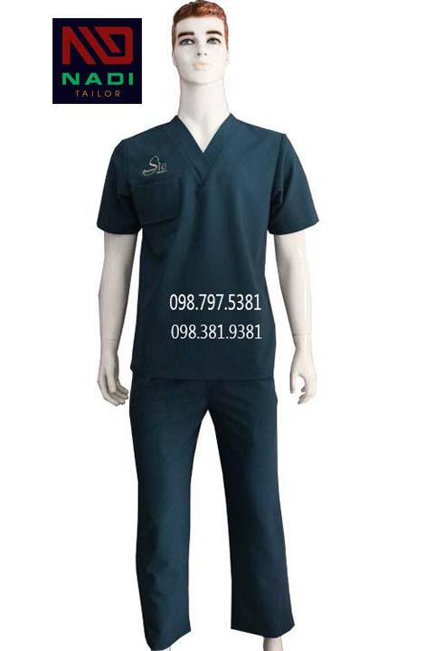 Đồng phục phòng mổ ABM030