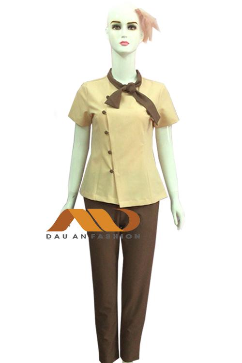 Đồng phục nhân viên màu nâu