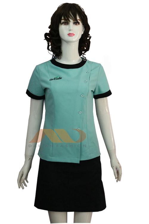 Đồng phục nhân viên xanh lam