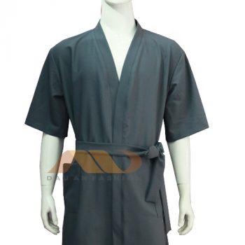 Áo khoác choàng màu xám