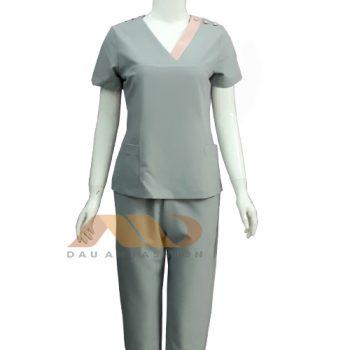 Đồng phục nhân viên màu xám