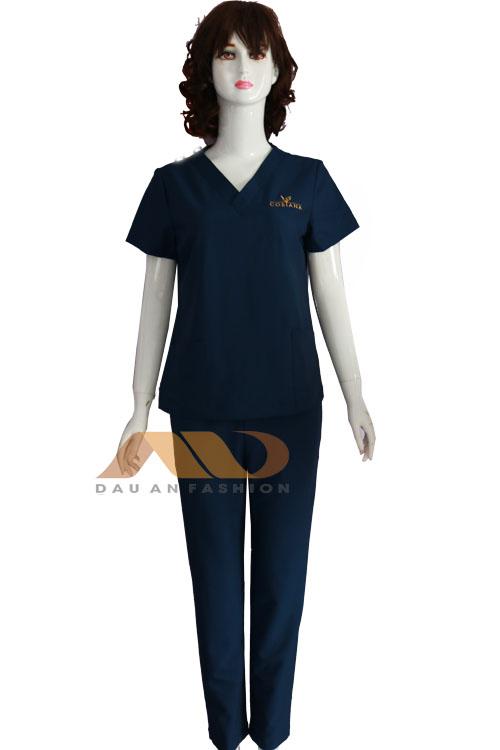 Đồng phục nhân viên xanh đen QS0041