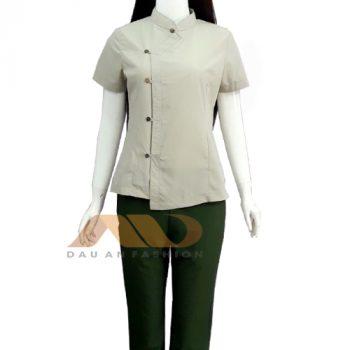 Đồng phục nhân viên xanh nhạt QS0027