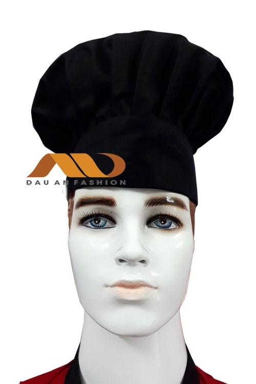Nón bánh bao màu đen NB004
