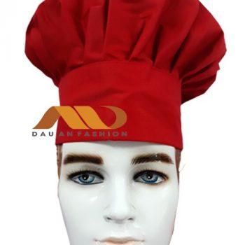 Nón bánh bao màu đỏ NB005