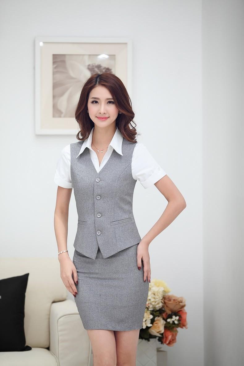 áo gile đồng phục