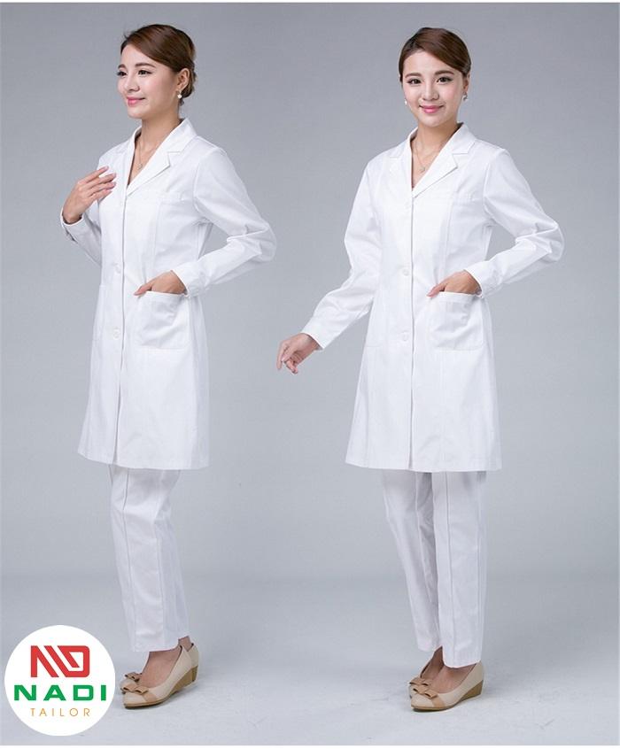 áo blouse phòng thí nghiệm giá rẻ