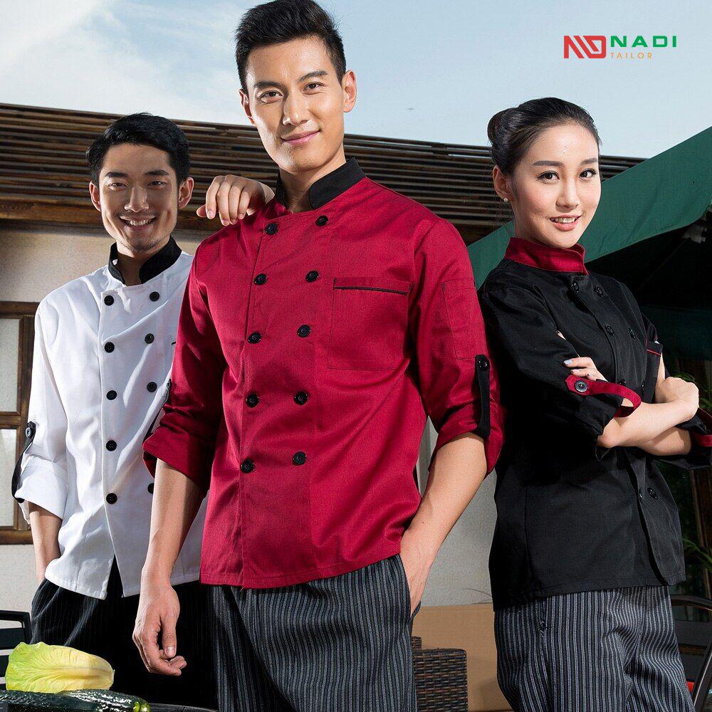 áo đồng phục bếp tphcm