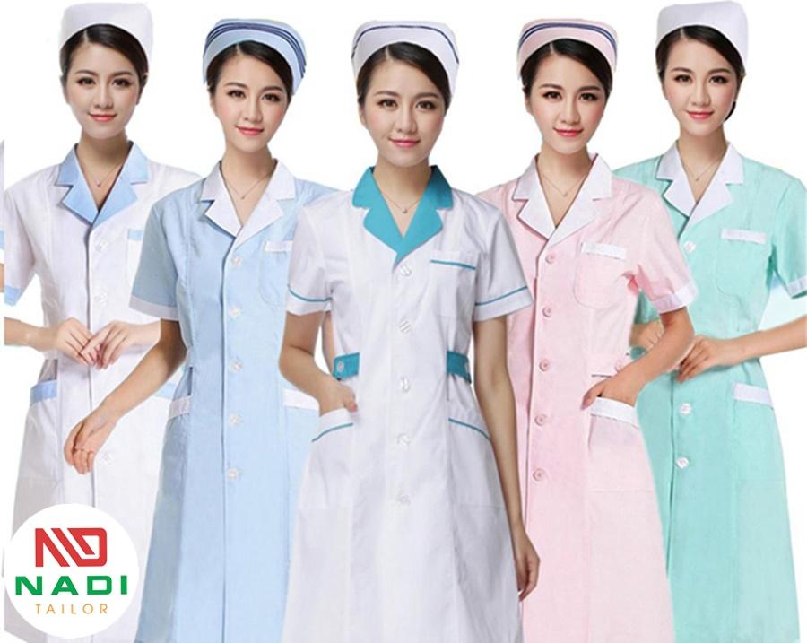 mẫu áo blouse điều dưỡng