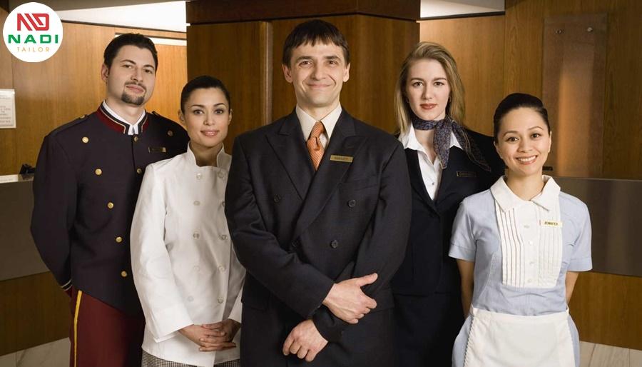 đồng phục nhà hàng ấn tượng