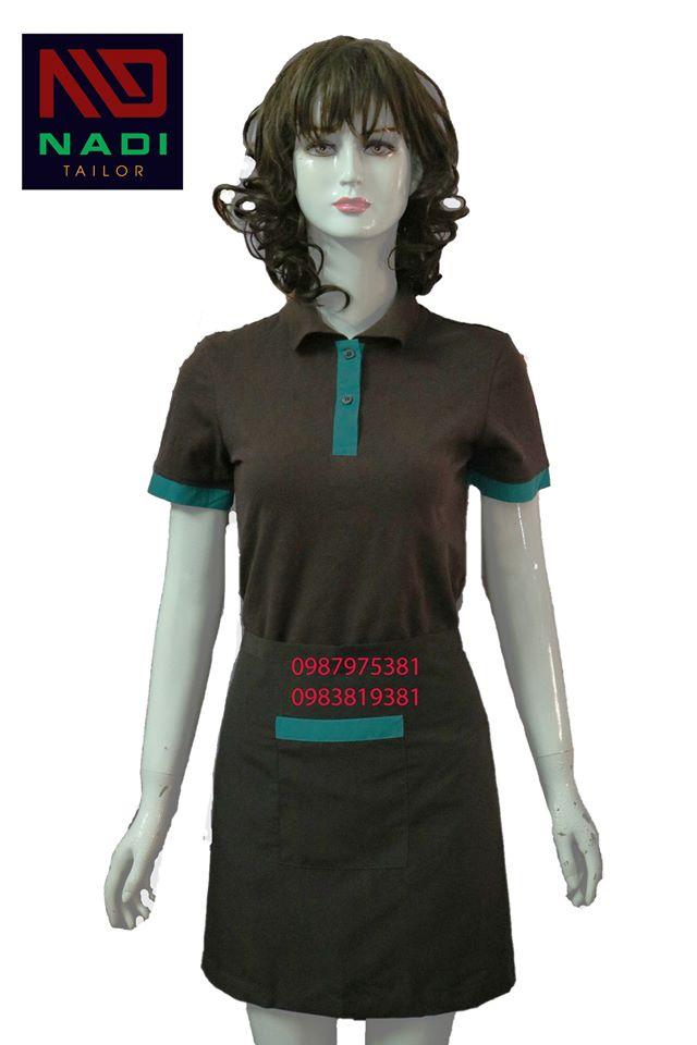 In áo đồng phục nhà hàng đẹp và chất lượng mới tạo được hình ảnh chuyên nghiệp, đồng nhất cho cả một nhà hàng.