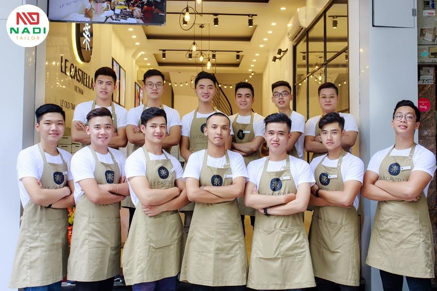 đồng phục đẹp dành cho quán cafe