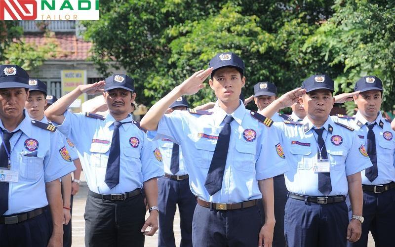 Nadi chuyên về đồng phục bảo vệ may sẵn tphcm chất lượng