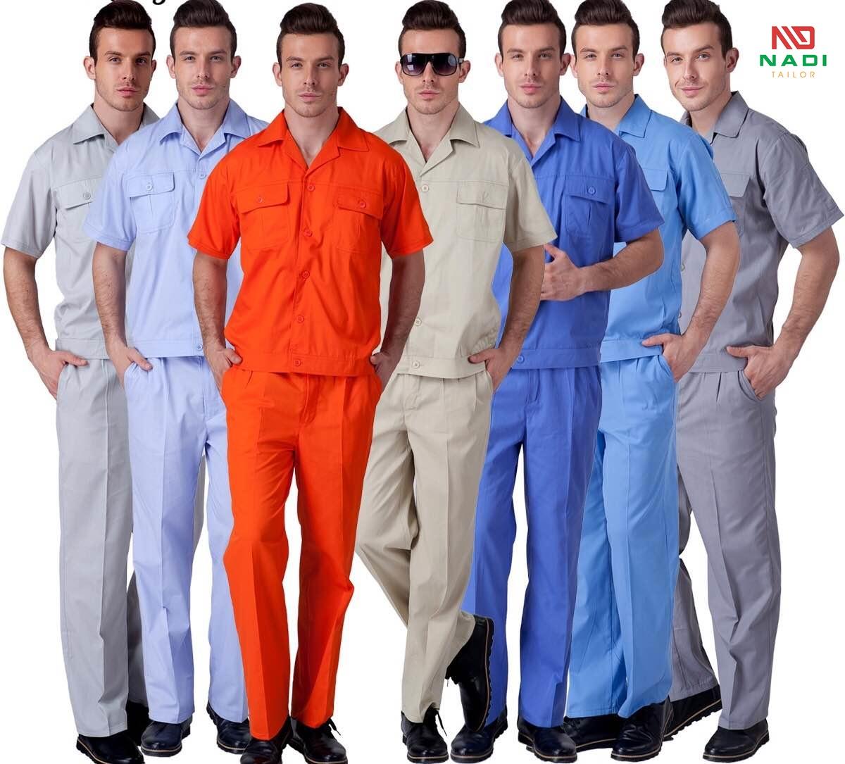 Lựa chọn màu sắc cho quần áo bảo hộ