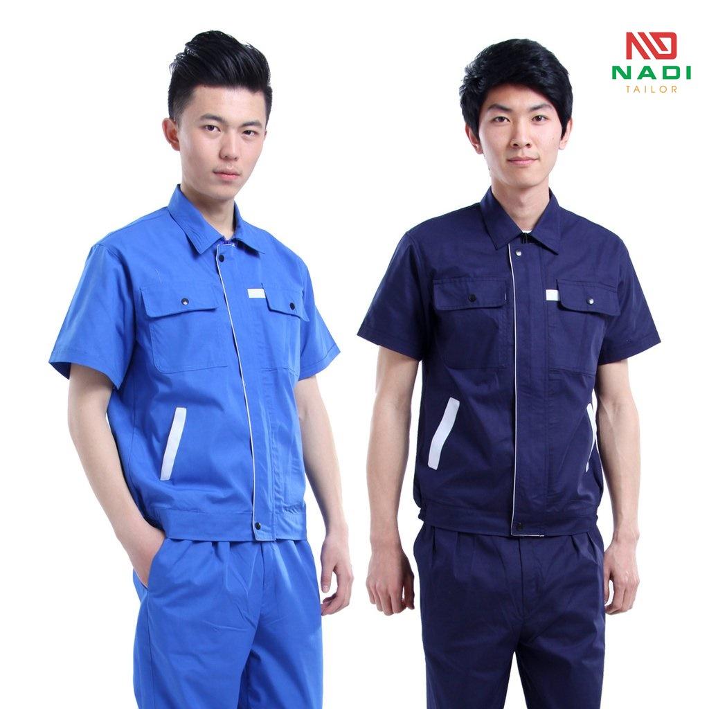 Trang phục công giúp hạn chế những rủi ro đơn giản từ hóa chất, bụi bẩn dính vào cơ thể