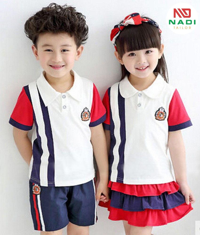 Tiêu biểu những mẫu đồng phục của mầm non