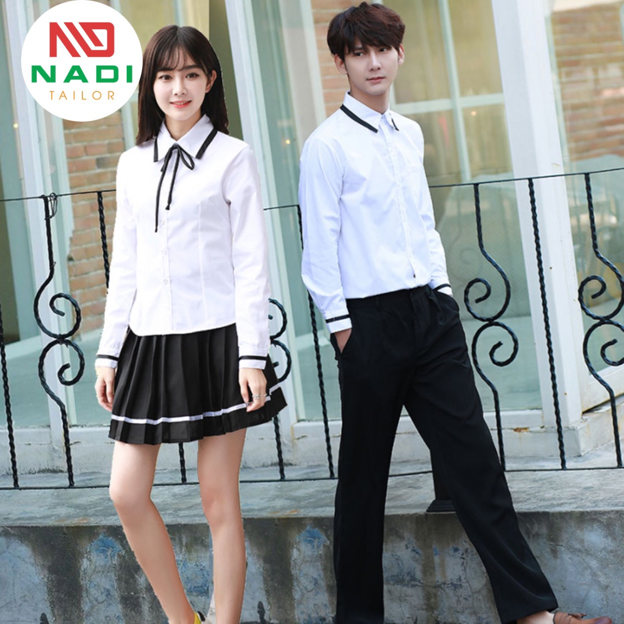 Thiết kế đồng phục học sinh đẹp