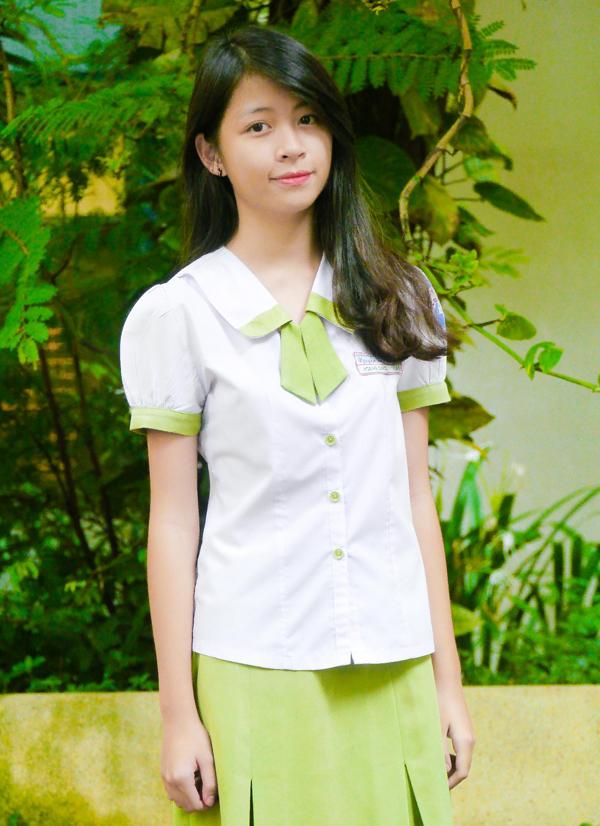 Đồng phục trường cấp 2 Nguyễn Thị Diệu