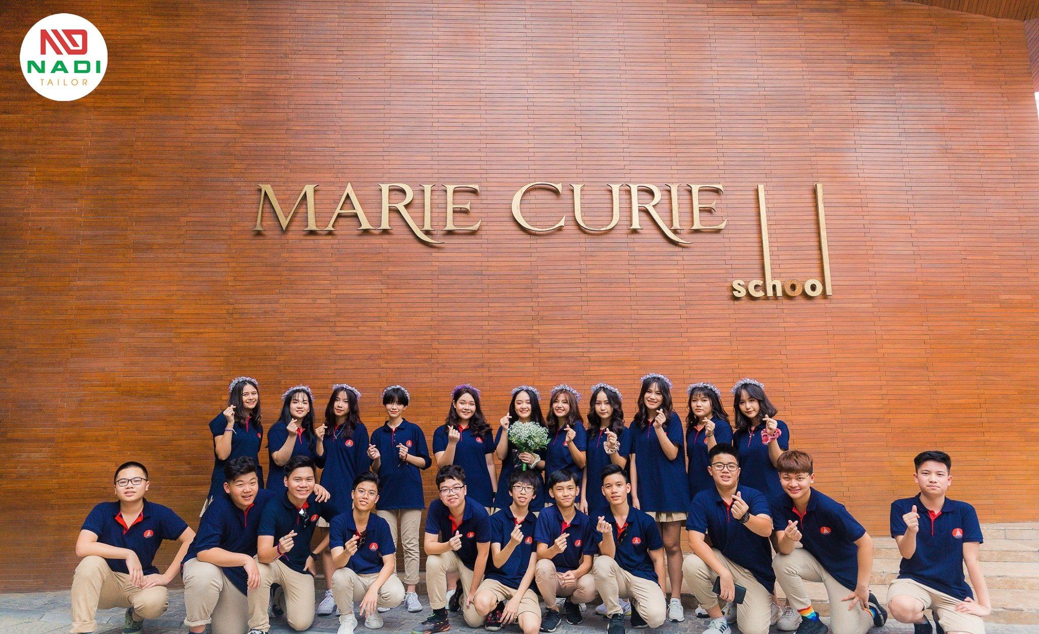Đồng phục trường Marie Curie Hà Nội