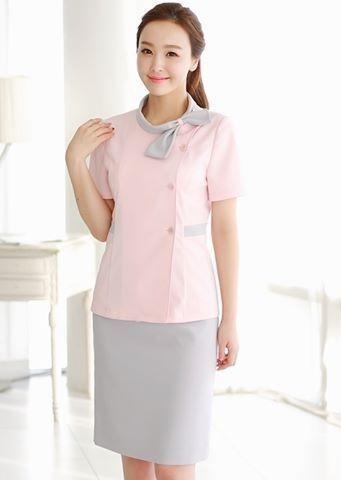Đồng phục Spa Hàn Quốc cần đảm bảo được sự thanh lịch, nhã nhặn