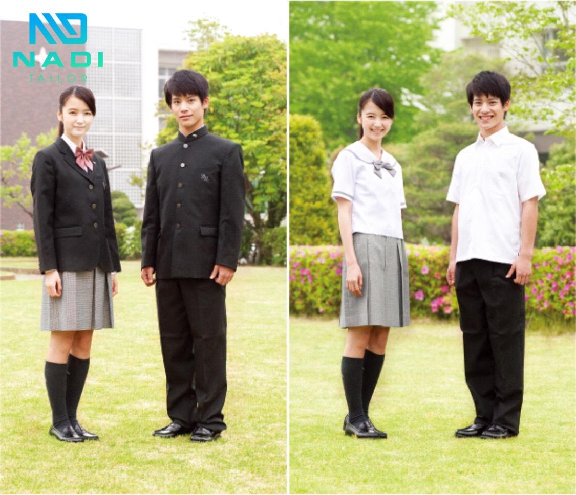 Áo đồng phục nam Nhật Bản không không kém phần đa dạng so với đồng phục dành cho nữ. Các đồng phục dành cho nam ngày đó, đều có mô tả theo trang phục của quân đội