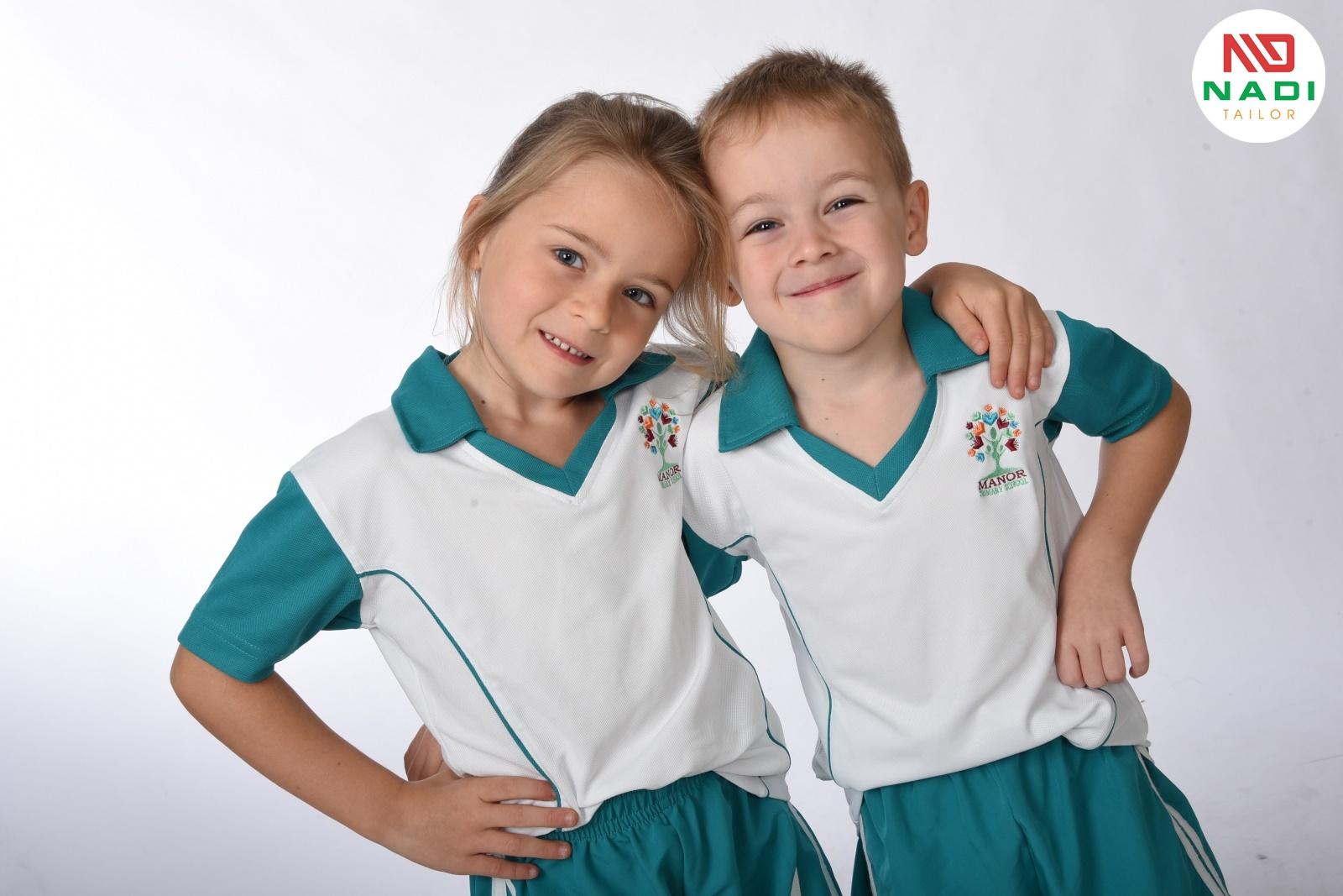 Đồng phục thể dục học sinh tiểu học