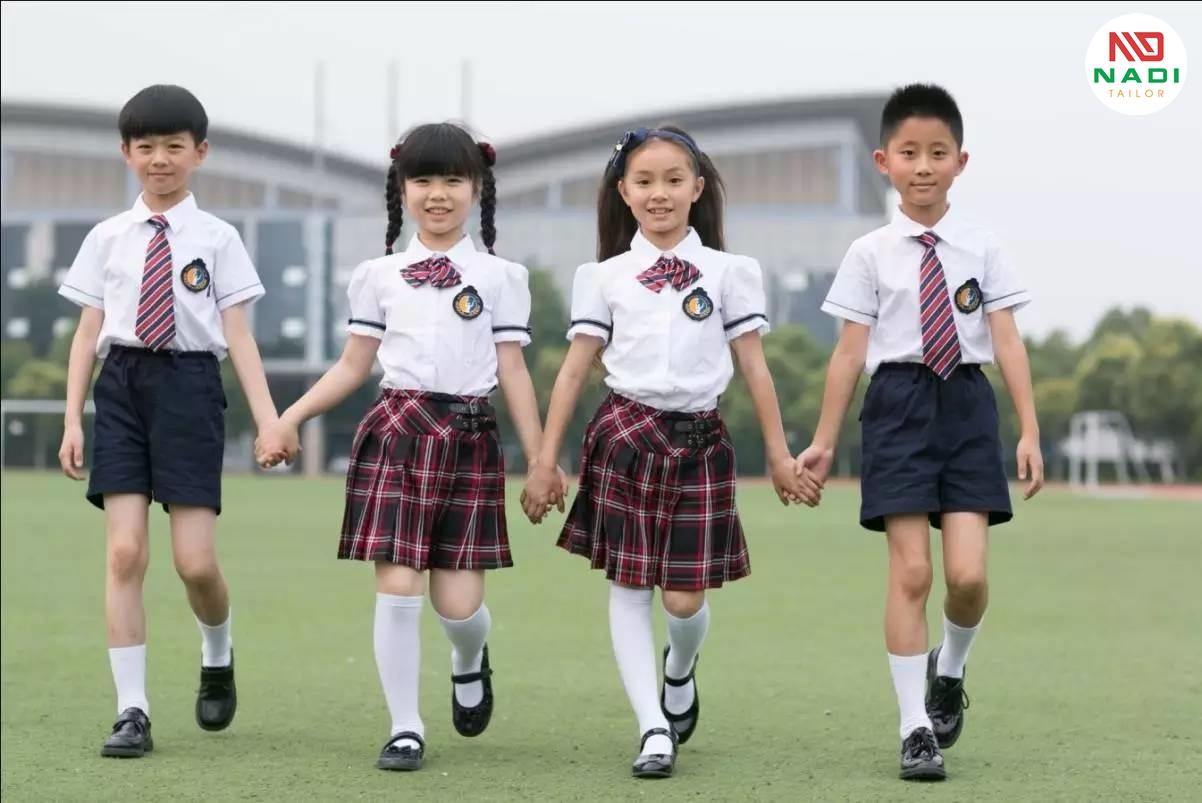 Lựa chọn thiết kế đồng phục học sinh tiểu học