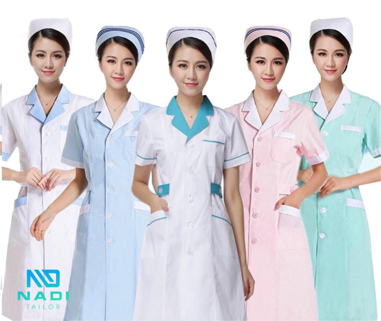 Quần áo cán bộ y tế phân chia theo cấp bậc