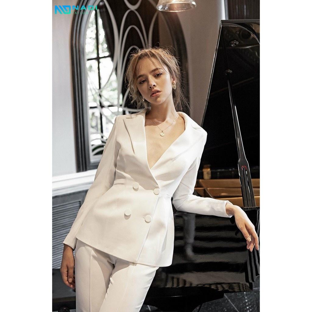 May đồng phục vest nữ công sở HCM