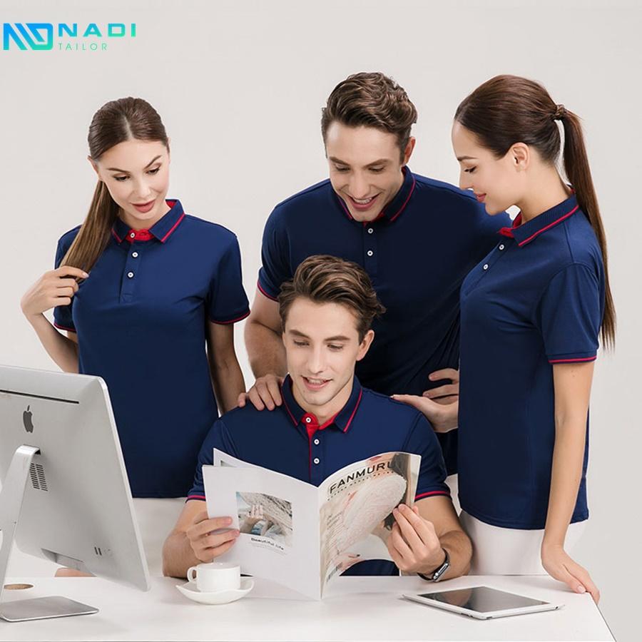 Các công ty may đồng phục có quy mô lớn thường sẽ cung cấp một loạt các quy trình sản xuất để giúp khách hàng quyết định. Nên chọn mẫu mã thiết kế nào phù hợp với chính họ nhất.